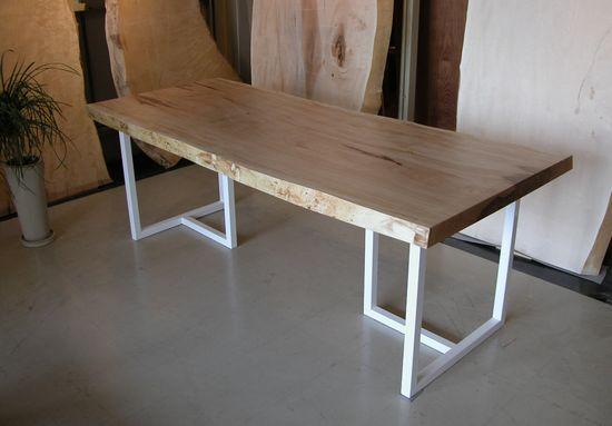 栃無垢一枚板テーブル4