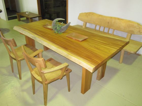 けやき一枚板テーブル