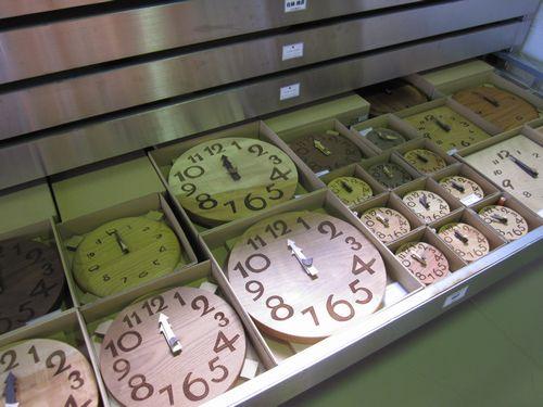 引き出しの時計